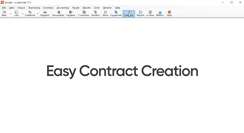 Creating Contracts