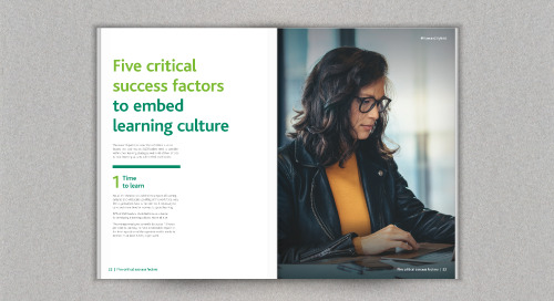 The human difference: building learning culture and workforce agility