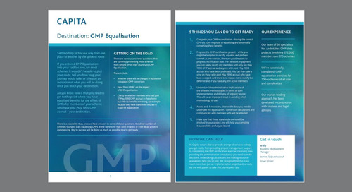 Destination GMP Equalisation - 5 things you can do to get ready
