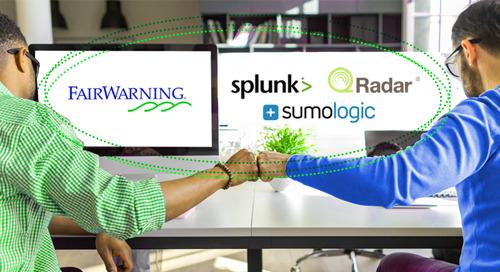 Streamline Security with FairWarning + SIEM Integration