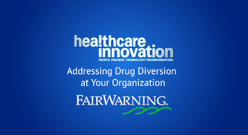Industry Leaders Discuss Identifying and Dealing With Drug Diversion