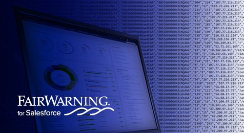 FairWarning for Salesforce: Detect Risk, Interpret User Behaviors, and Investigate Salesforce Threats in Real Time