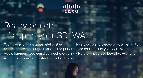 Ready or Not It's Up to Your SD-WAN