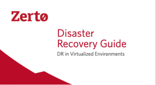 DR in Virtualized Environments