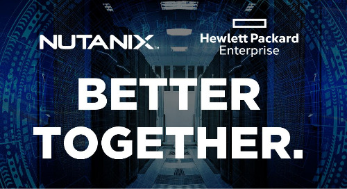 Nutanix on HPE Infrastructure Use Cases