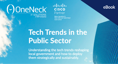 Tech Trends in the Public Sector