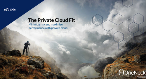 The Private Cloud Fit