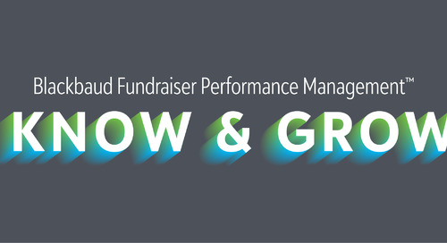 Webinar: Unleash the Power of Your Data to Drive Fundraising Results