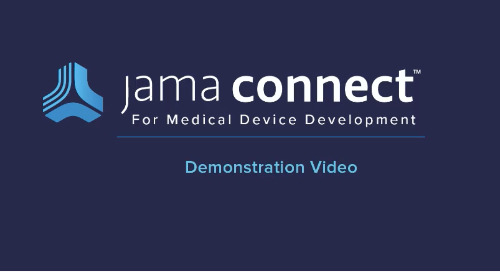 Jama Connect™ for Medical Device Development Demo