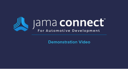 Product Demo: Jama Connect™ for Automotive