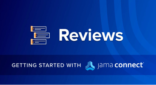 Getting Started with Jama Connect: Reviews