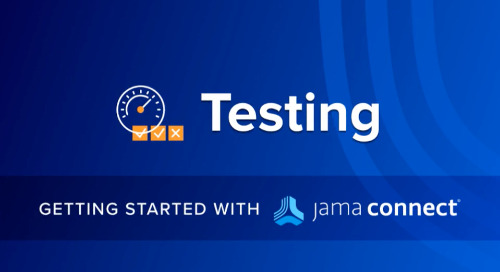 Getting Started with Jama Connect: Testing