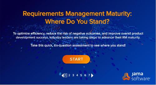 Requirements Management Maturity Assessment