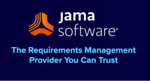 Why Choose Jama Software?