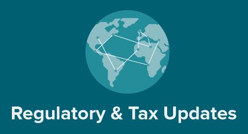 Global Tax and Regulatory Update: April 2019