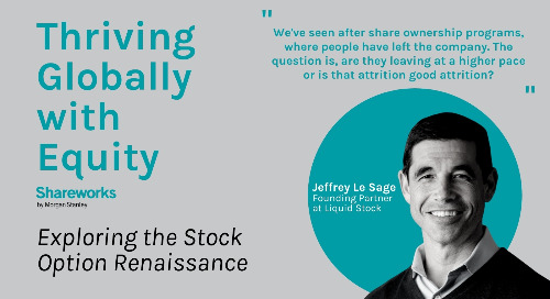 [Podcast] Tech Lawyer Turned Founder: Jeffrey Le Sage on the Next Era of Employee Equity Plans