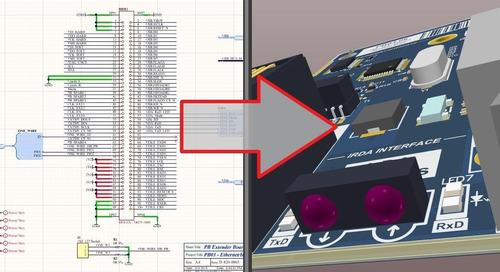 Come creare un layout PCB da uno schema in Altium Designer
