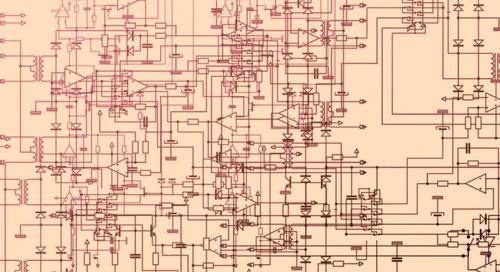 Nella libreria Altium simboli multipli per i vari componenti rendono il progetto più veloce