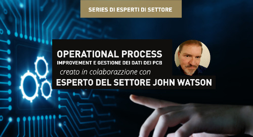 Operational process improvement e Gestione dei dati dei PCB