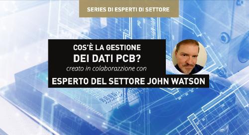 Cos'è la gestione dei dati PCB?