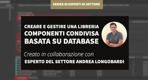 Creare e gestire una libreria componenti condivisa basata su database