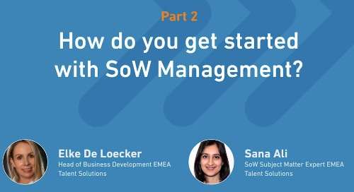 SoW Explained, Part 2: How to get started with SoW Management