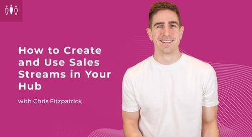 How to Create and Use Sales Streams in Your Hub