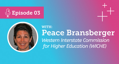 Demographics in Enrollment Management: An interview with Peace Bransberger [Podcast Ep.3]