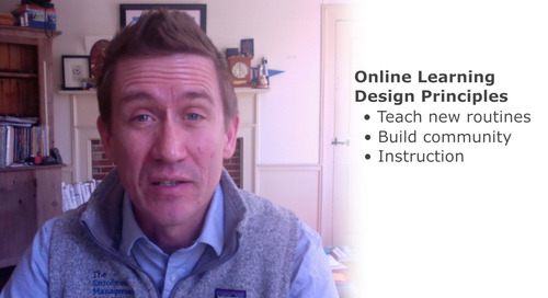Member Minute: Three Design Principles for Online Learning
