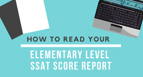Reading Your Elementary Level Score Report for Families [2019-2020]