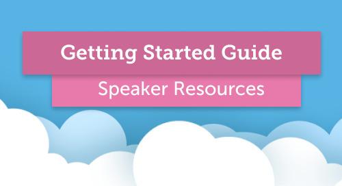 Start Here: Guide for Speakers