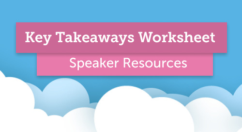 How to Build Your Key Takeaways Worksheet