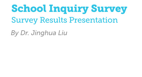 School Inquiry Survey Results Deck