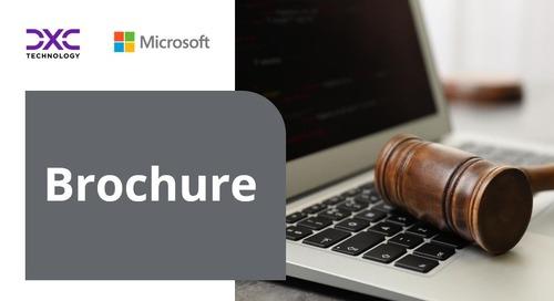Modernise legacy case management with DXC Justice Case Management Solution
