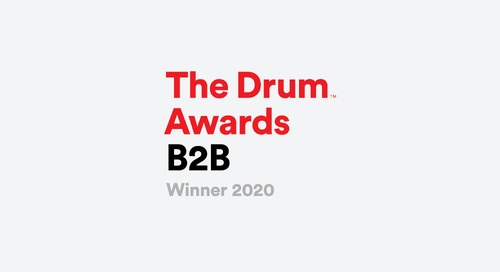 "The Drum Names Trevor Kaufman ""Martech Hero"" in the 2020 B2B Awards"