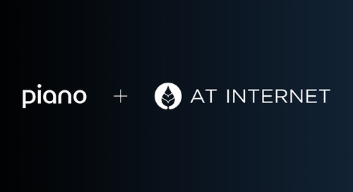AT Internet Joins Piano to Form Industry-First Customer Experience Platform Powered by Contextual Analytics
