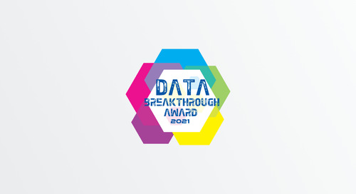 "Piano Named ""Data Management Solution of the Year"" in 2021 Data Breakthrough Awards Program"