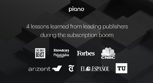 4 lessons learned from leading publishers during the subscription boom