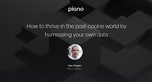 How to thrive in the post-cookie world by harnessing your own data