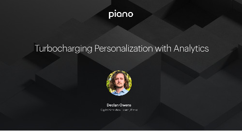 Turbocharging Personalization with Analytics