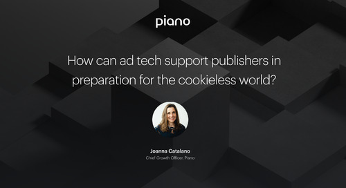 How can ad tech support publishers in preparation for the cookieless world?