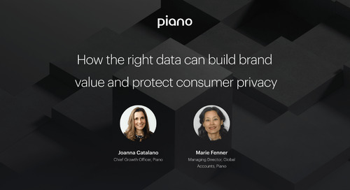 How the right data can build brand value and protect consumer privacy
