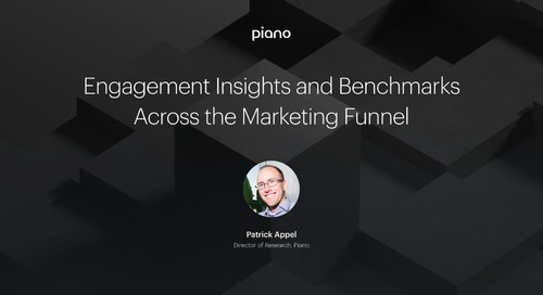 Engagement Insights and Benchmarks Across the Marketing Funnel