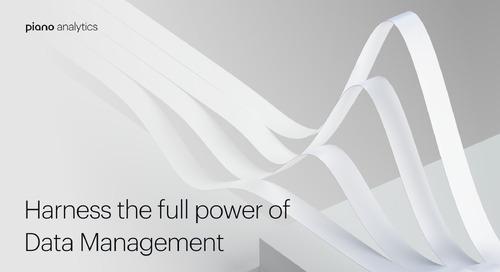 Piano Analytics: Harness the full power of Data Management