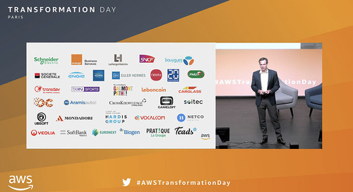 Keynote d'ouverture de l'AWS Transformation Day Paris 2019