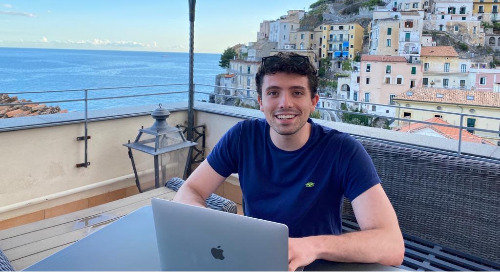 Meet Jacopo, Data Science Intern
