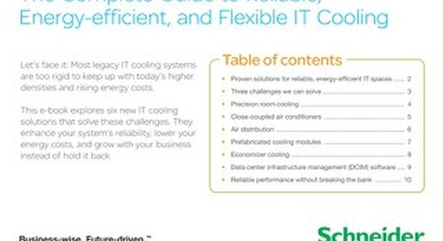 Complete Guide to Reliable, Energy-efficient, and Flexible IT Cooling