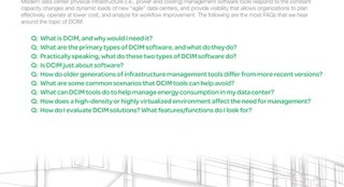FAQs on Data Center Management Software