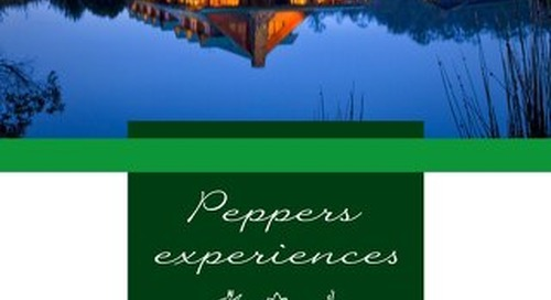 Peppers Cradle Mountain Lodge Experiences Brochure