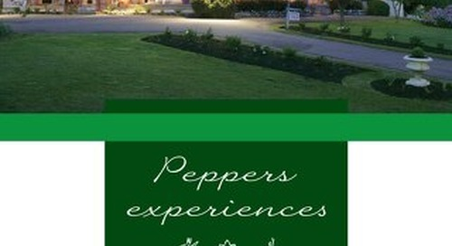 Peppers Manor House Experiences Brochure